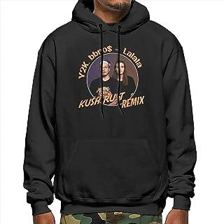 DawnMNartine Y2K & Bbno$ Mans Hoodies Fashion Long Sleeve Tops Pocket Sweater Hooded Sweatshirt