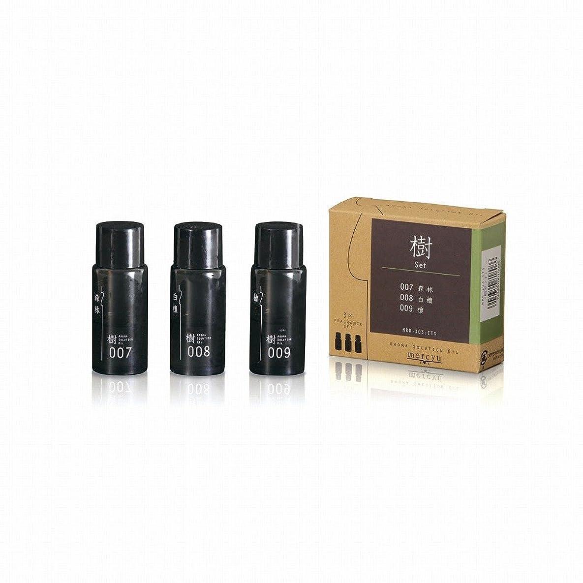 ミシン目注釈事業内容mercyu(メルシーユー) アロマソリューションオイル 和の香り MRU-103 (樹)