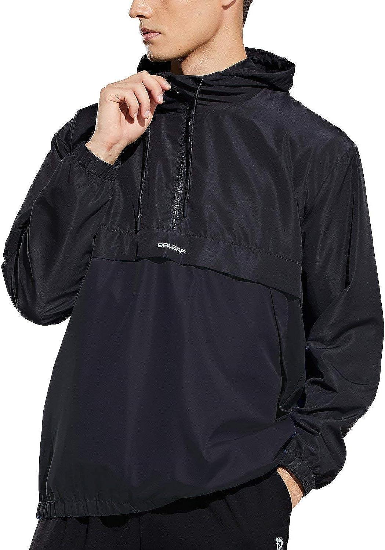 BALEAF Men's Sports Windbreaker Running 定価の67%OFF 流行 Li Track Workout Jackets