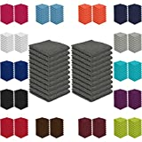 20er Pack Seiftücher Sparpreis in vielen Farben 30x30 cm 100%