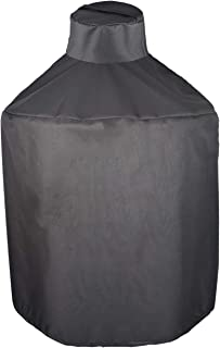 Mini Lustrous Cover for Large Big Green Egg, Heavy Duty Kamado Ceramic Grill Cover,..
