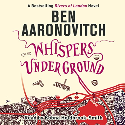 Whispers Under Ground audiobook cover art