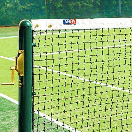 Vermont 2mm Tennis Net [9lbs] - 42ft Wide Doubles Regulation Net