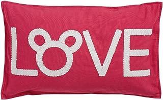 Ethan Allen | Disney Mickey Mouse Love Pillow, Minnie Pink