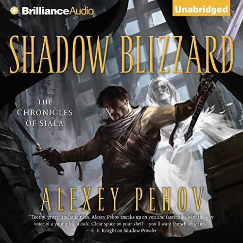 Shadow Blizzard audiobook cover art