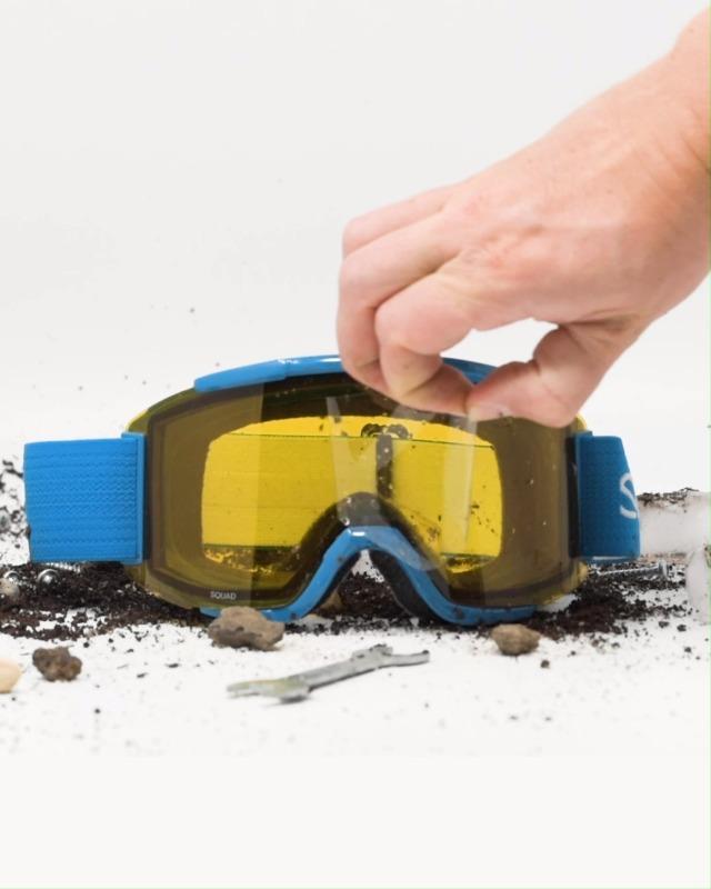 Blue 206710-107 Scott USA Single Anti-Fog Works Lens for Scott Goggles