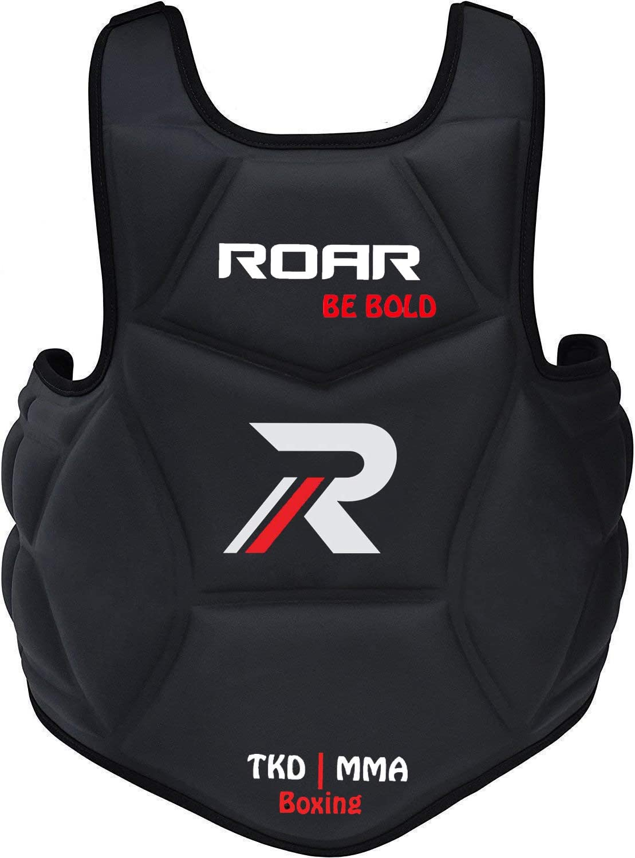 Max 46% OFF Max 70% OFF Roar Boxing Chest Guard Gel Padding Body Rib Protector MMA Shiel