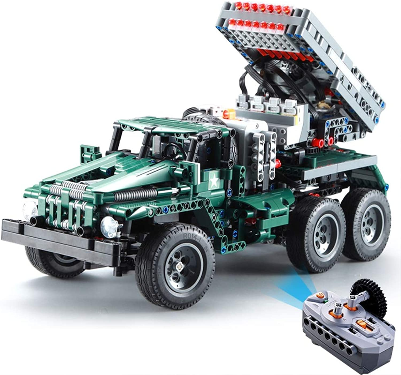 AIYA 1369pcs RC Rocket Launcher Truck Car 2in1 Creator Technic Military Power Funcation MOC Building Blocks Bricks legoings Toys for Birthday Gift Boys B07PRVDTVT  Schöne Farbe    | Verbraucher zuerst