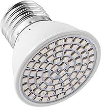 Mobestech Plant Light Bulb E27 6W Full Spectrum Grow Lamp Bulb Red Blue 72 LEDs Plant Lamp for Plant Hydroponic Farm Green...