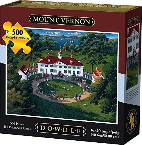 Jigsaw Puzzle - Mount Vernon 500 Pc By Dowdle Folk Art