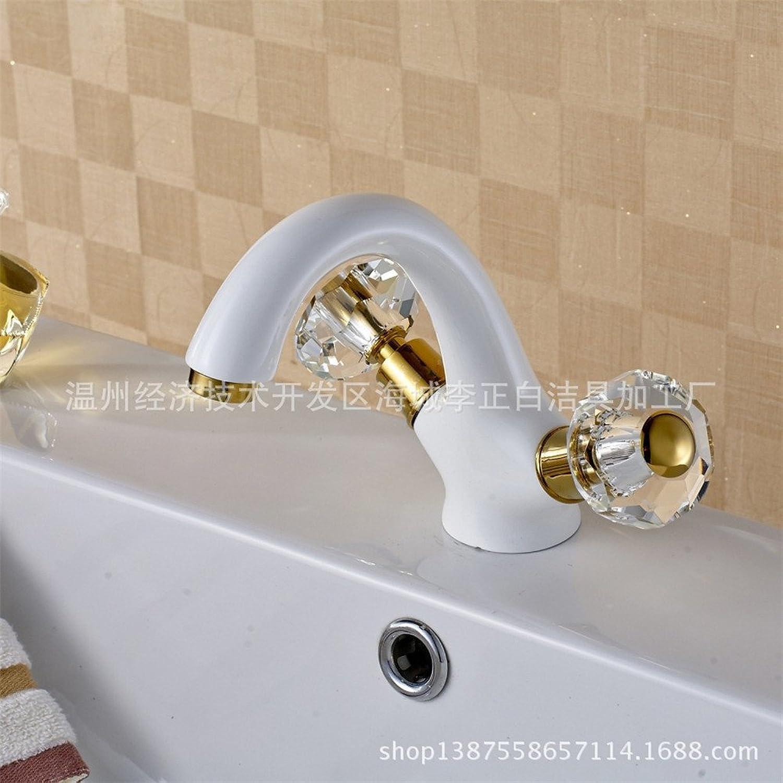 Küche mit herausziehbarer Dual-Spülbrause,Kaltes Heies Wassert Robinet de laque haut de gamme en atmosphère de cuisine haut de gamme, tout en cuivre, cuit au four robinet de bassin