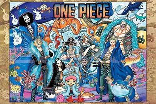 Yzqxiongtu 20-jarig jubileum Cartoon-puzzel 1000 stukjes, houten puzzels Volwassen stressverlichters-puzzel, kind-tiener Volwassenen Braingame-puzzels