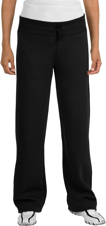 SportTek Women's Fleece Pant M Black