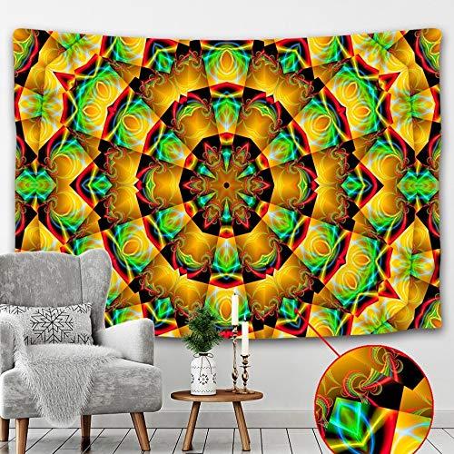 PPOU Arazzo Indiano dei tarocchi Stregoneria Appeso a Parete Decorazione della casa Mandala Wall Hippie arazzo Coperta Appeso Panno A2 73x95 cm