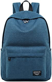 CHENDX Handbags New Men's Women's Couple Oxford Cloth Travel Bag Casual Large Capacity Backpack Student Backpack (Color : Dark Blue Color, Size : 40cm*30cm*12cm)