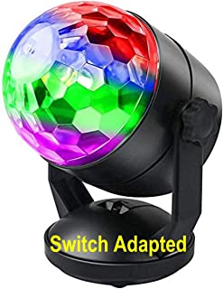 Switch Adapted Toy Disco Ball Light | Adaptive Toys | Special Needs Switch Toys | Switch Toys Black
