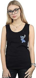 Disney Femme Lilo /& Stitch Stitch Backside Breast Print Tank Top