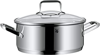 WMF Trend Low Casserole 24Cm With Lid, Stainless Steel, 1kg