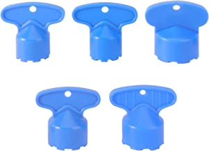 DOITOOL 5 Stks Kraan Beluchter Removal Tool ABS Kern Deel DIY Installeren Kraan Beluchter Sleutel Beluchter Sleutel Voor K...