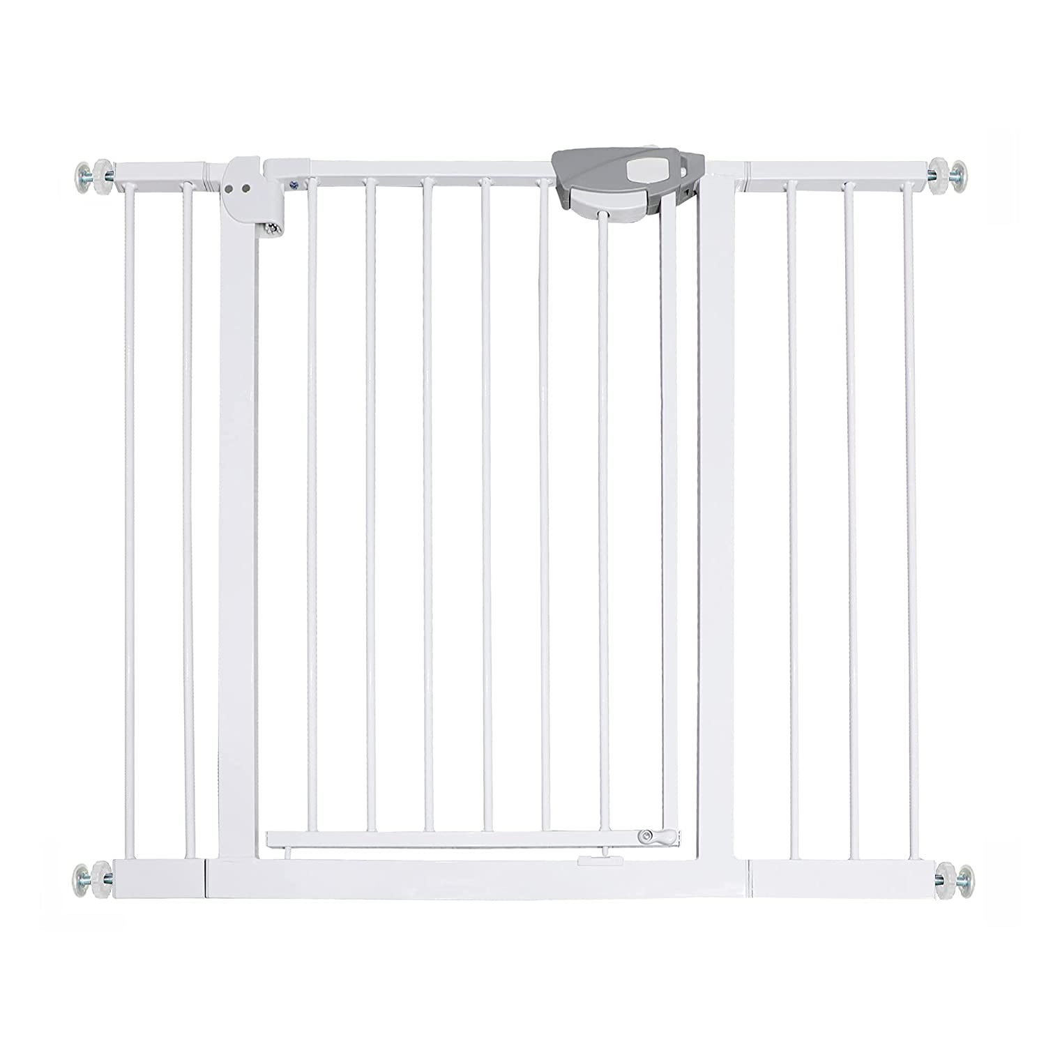 Auto Close Banister Baby Gate Walk Thru for Gates Pets New products world's highest quality popular Elegant A Kids Or