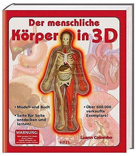 Der menschliche Körper in 3D - Buch mit Skelettmodell