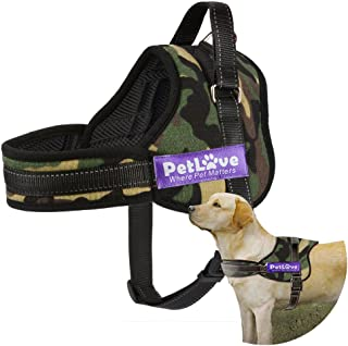 PetLove Dog Harness, Soft Leash Padded No Pull Dog Harness with All Kinds of Size