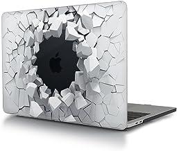 L2W Coque MacBook Pro 13 Mod/èle: A1278 Feuilles de Palmiers tropicaux 09 Coque de Protection Rigide rev/êtement en Caoutchouc Souple pour MacBook Pro 13avec CD-ROM 2012-2008, Non Retina