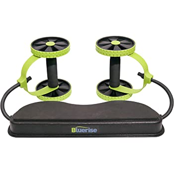 BLUERISE Ab Roller Wheel at Home Workout Multifunctional Ab Roller Easy to Use Ab Trainers Abdominal Roller No Noise Home Ab Workout Equipment for Women Men Core Wheels Ab Wheel Ab Machine