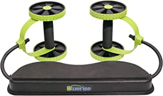 Bluerise AB Wheel Roller Fitness Abdominal Machine Exercise Gym Equipment Core Workout Multi-Function ABS Fitness Equipmen...