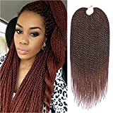 Refined 7Packs 18Inch 30Stands/Pack Senegalese Twist Crochet Braids 16 Colors...