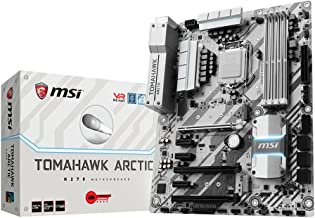 MSI H270 Tomahawk Arctic - Placa Base Arsenal (Chipset Intel H270, DDR4 Boost, Audio Boost, VR Ready, Military Class V)