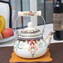 Koffie Sets Porselein Dikke Email Pot Waterkoker Thee Pot Emaille Pot Melk Pot Platte Pot Elektromagnetische Pot Gas Unive...