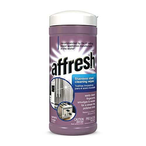 Affresh W10355049 Stainless Steel Wipes, 35 Wipes