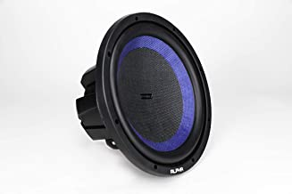 Hifonics Alpha HAW12D4 –12 Inch Subwoofer, DVC Car Audio, 1200 Watt, Dual 4 Ohm, 2.5 Inch Voice Coils with a Woven Glass Cone, Light Weight Sub