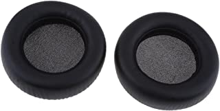 ATH-WS550, ATH-WS550IS ヘッドフォン用 交換 イヤパッド クッション 耐久性 柔軟性 黒