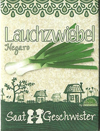 Die Stadtgärtner Lauchzwiebel-Saatgut   sehr schmackhaft und vielseitig   Sorte