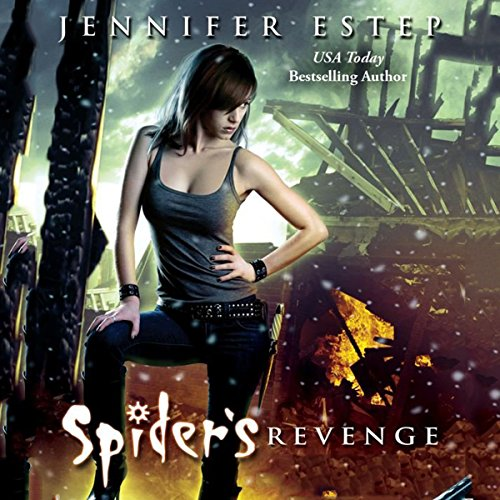 Spider's Revenge audiobook cover art