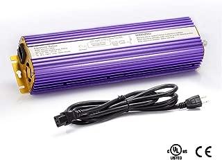 TOPHORT 600 Watt Digital Dimmable Electronic Ballast for HPS MH Grow Light Bulb Lamp