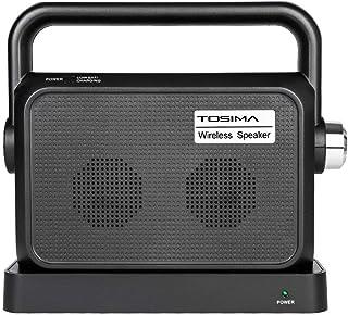 Tosima - Altavoz inalámbrico para TV, portátil, Audio, Audio, Asistencia auditiva