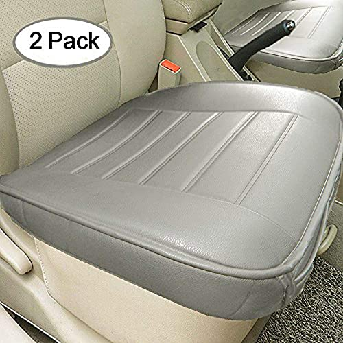 Big Ant Edge Wrapping 2pc Car Front Seat Cushion Cover Pad Mat for Auto Supplies Office