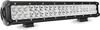 NILIGHT 20 Zoll Arbeitsscheinwerfer 126W Zusatzscheinwerfer LED Light Bar Auto Scheinwerfer Offroad Flutlicht Spotlight Wasserdicht IP67, 2 Jahre Garantie