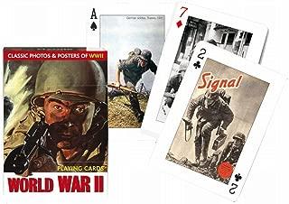 Piatnik 00 1492 World War II Playing Cards