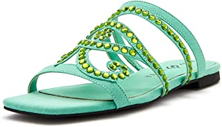 Katy Perry Women's The Anat Slide Sandal, WAVE, 6