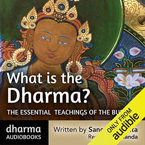 What is the Dharma? audiobook cover art