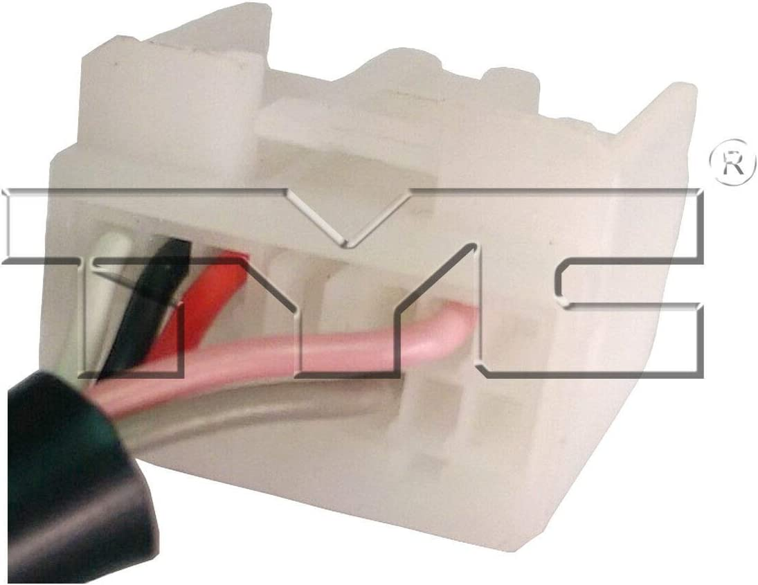 TYC 5430031 Compatible with TOYOTA Prius C Right Replacement Non-Heated Mirror