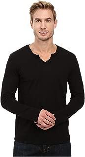Mod-O-Doc Men's Long Sleeve Notch V-Neck Tee Shirt