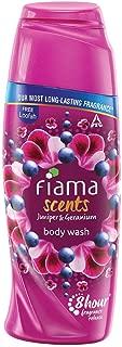 Fiama Scents Juniper & Geranium Body Wash, 100ml with loofah free
