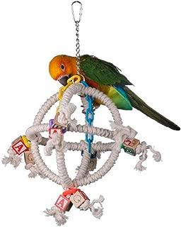 "Super Bird Creations SB445 Fun Round Swinging Orbiter Bird Toy,  Small To Medium Size,  14"" x 10"",  Varies"