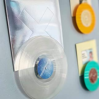 Record Props - Vinyl Record Display - Combine Vinyl and Album Cover on Wall. Doubles as a Now Playing Tabletop Stand.