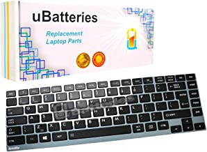 UBatteries Compatible Keyboard Replacement For Toshiba Portege Z830 Z835 Z930 Z935 Satellite U800 U800W U840 U845 U845T U845W U900 U900W U920 U925 U930 U940 U940S U940t U955 P000552600 LKB-TO12B Black